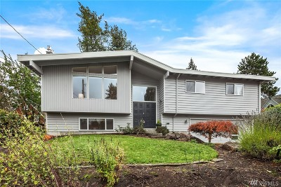 Shoreline Single Family Home For Sale: 19632 14th Ave NW