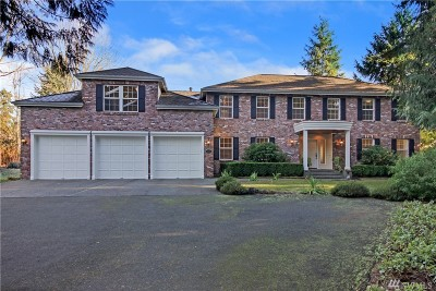 Bothell Single Family Home For Sale: 2530 187th Place SE