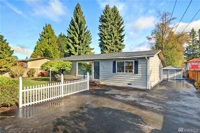 Seattle Single Family Home For Sale: 12620 Occidental Ave S