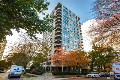 Seattle Condo/Townhouse For Sale: 1120 Spring St #1004