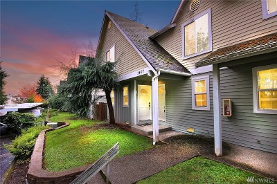 Lynnwood Condo/Townhouse For Sale: 3407 156th St SW #B