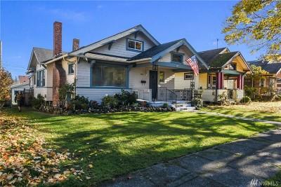 Tacoma Single Family Home For Sale: 3827 Fawcett Ave