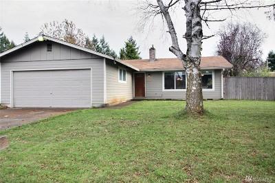 Spanaway Single Family Home For Sale: 17009 21st Av Ct E