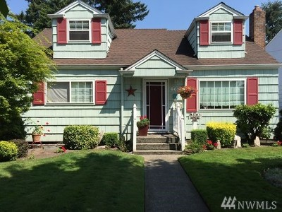 Puyallup Single Family Home For Sale: 605 12th St NW