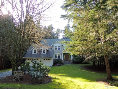 Gig Harbor Single Family Home For Sale: 4818 86th Ave NW