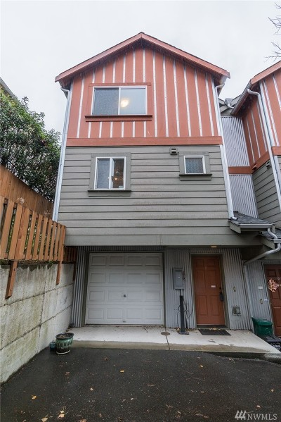 Seattle Single Family Home For Sale: 4838 S Chicago St #F