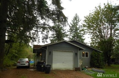 Napavine Single Family Home For Sale: 215 3rd Ave NW