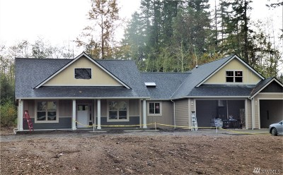 Olympia Single Family Home For Sale: 7416 Johnson Point Rd NE