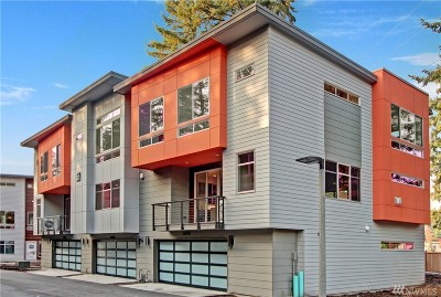 Bellevue Condo/Townhouse For Sale: 1688 163rd Place NE #F-1