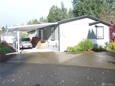 Puyallup Mobile Home For Sale: 12407 116th Av Ct E #262