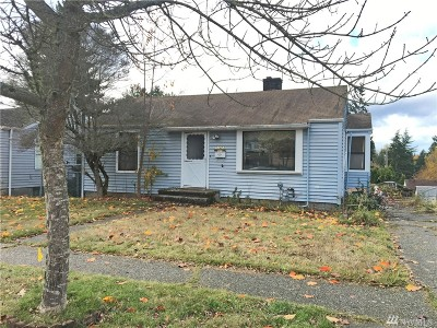 Seattle Single Family Home For Sale: 11423 Woodley Ave S