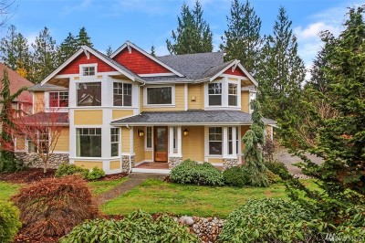 Snohomish Single Family Home For Sale: 20105 59th St SE