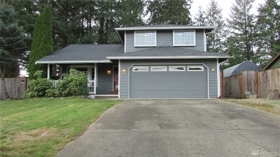 Spanaway Single Family Home For Sale: 22804 34th Av Ct E