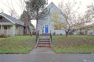 Tacoma Single Family Home For Sale: 3725 S D St