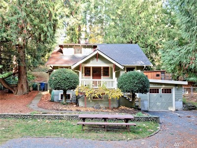 Lake Forest Park Single Family Home For Sale: 18426 Ballinger Wy NE