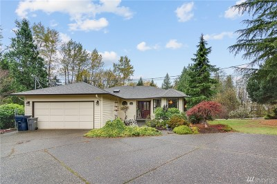 Snohomish Single Family Home For Sale: 16108 Westwick Rd