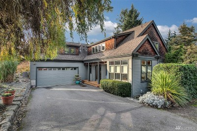 King County Single Family Home For Sale: 9601 39th Ave SW