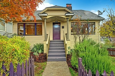 Seattle Single Family Home For Sale: 4240 S Findlay St