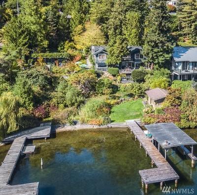 Medina Single Family Home For Sale: 520 Overlake Dr E