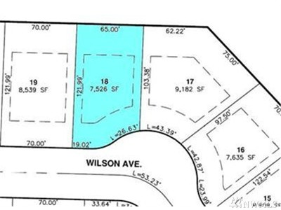 Blaine Residential Lots & Land For Sale: 1338 Wilson Ave