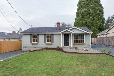 Tacoma Single Family Home For Sale: 8455 S 19th St