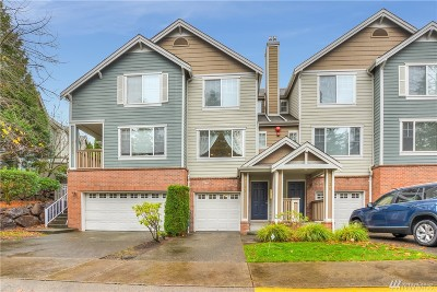 King County Condo/Townhouse For Sale: 4122 248 Th Ct SE #82