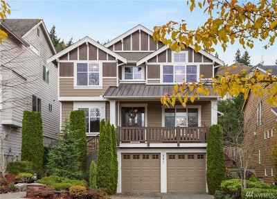 Issaquah Single Family Home For Sale: 891 Bear Ridge Dr NW