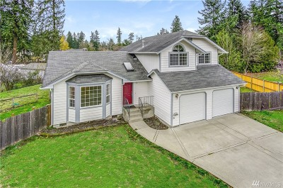 Spanaway Single Family Home For Sale: 1819 151st St Ct S