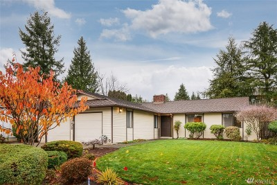 Renton Single Family Home For Sale: 17420 158th Ave SE