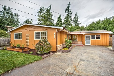 Edmonds Single Family Home For Sale: 7615 202nd St SW