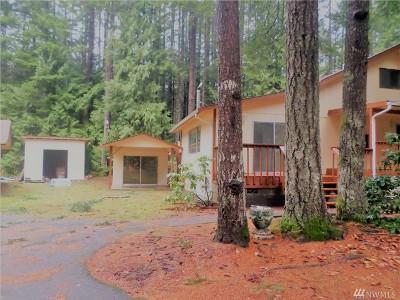 Mason County Single Family Home For Sale: 80 N Hamma Hamma Dr W