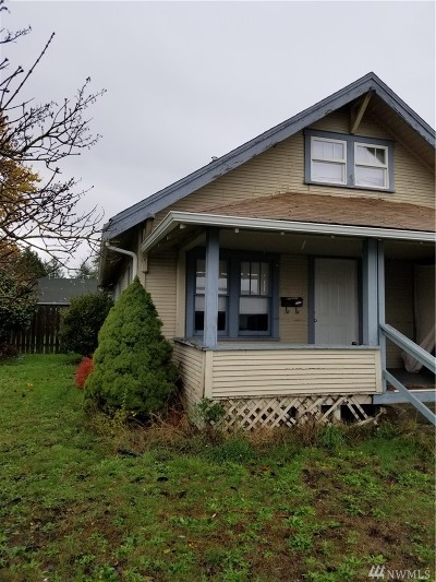 Centralia Multi Family Home For Sale: 1009 W Main St