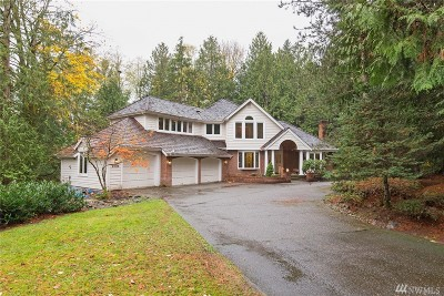 Woodinville Single Family Home For Sale: 21518 NE 143rd Place