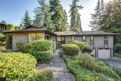 Bellevue Single Family Home For Sale: 12833 SE 45th Place