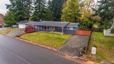 Olympia Single Family Home For Sale: 3201 Long Lake Dr SE