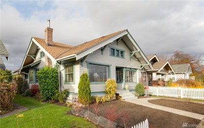 Bellingham Single Family Home Sold: 2307 A St