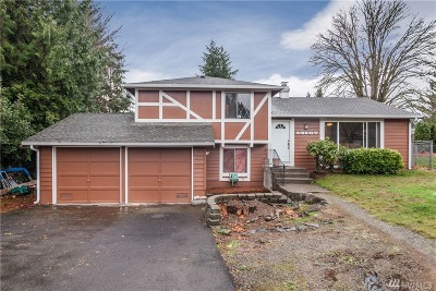 Renton Single Family Home For Sale: 13107 SE 187th Ct