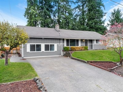 Olympia Single Family Home For Sale: 1340 Whisler St NE