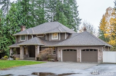 Snohomish Single Family Home For Sale: 19622 State Route 9 SE