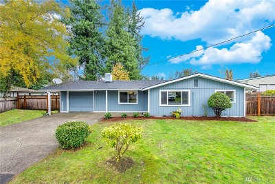 Thurston County Single Family Home For Sale: 2109 Lilac St SE