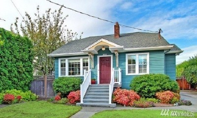 Seattle Single Family Home For Sale: 314 N 117th St