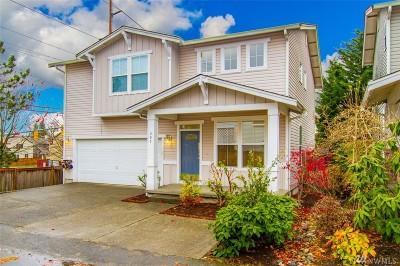 Renton Single Family Home Contingent: 405 Hoquiam Place NE