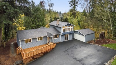 Issaquah Single Family Home For Sale: 15650 Issaquah Hobart Rd SE