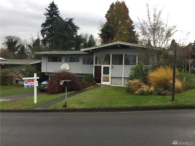 Seattle Single Family Home For Sale: 8009 S 113th St