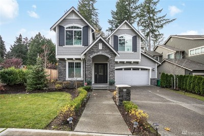 Redmond Single Family Home For Sale: 2401 185th Place NE
