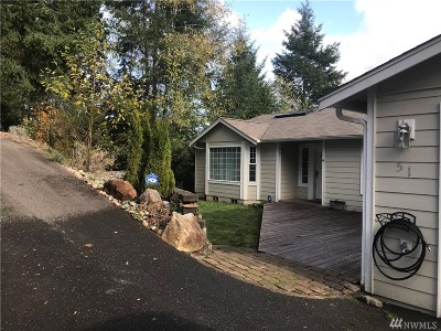 Grapeview Single Family Home For Sale: 51 E Sea Breeze Dr