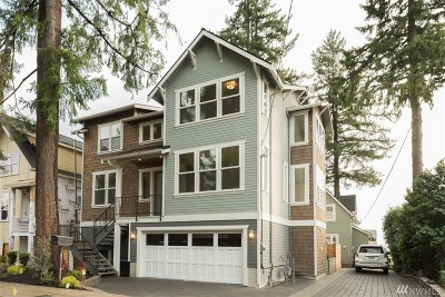 Seattle Single Family Home For Sale: 1227 NE 88th St