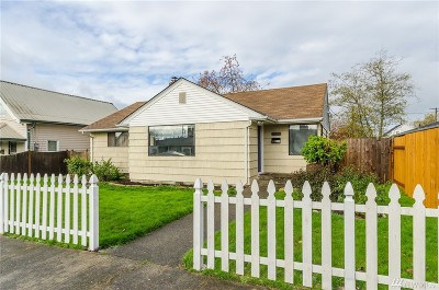 Chehalis Single Family Home For Sale: 124 5th St
