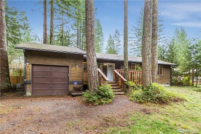 North Bend WA Single Family Home For Sale: $375,000