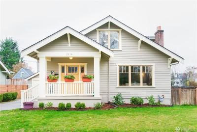 Tacoma Single Family Home For Sale: 2118 N Cedar St
